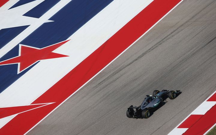 Lewis Hamilton at the US Grand Prix.