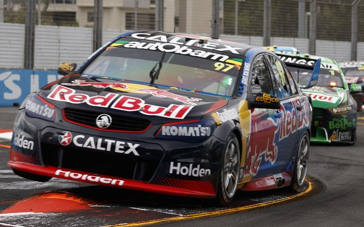 Shane van Gisbergen wins the opening race at the Gold Coast 600.