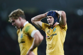 Wallabies flanker Dean Mumm after their third Bledisloe Cup Test loss to the All Blacks in Ocotber 2016