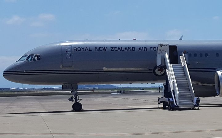 The Prime Minister's trip to India has been delayed due to technical issues with the Royal New Zealand Air Force Boeing 757.