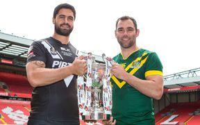 Jesse Bromwich and Cameron Smith