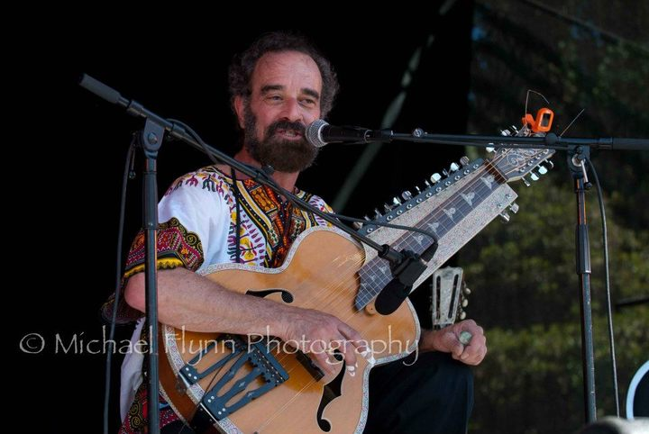 Bob Brozman at Womad 2011