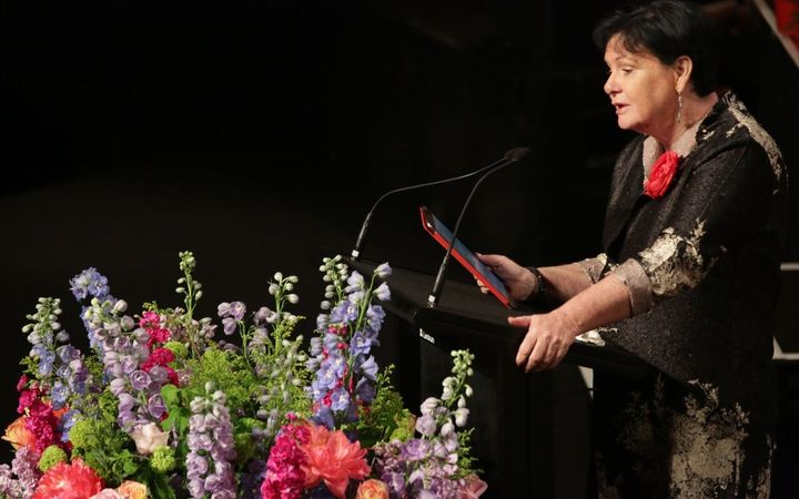 International Trade Union Confederation president Sharan Burrow