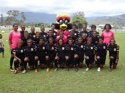 The PNG under 20 Women's team.