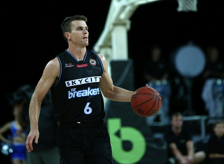 Kirk Penney in action for the Breakers
