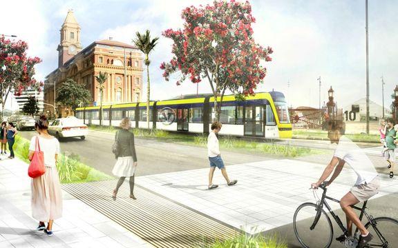 Labour wants light rail through Auckland CBD