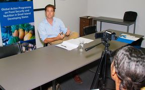 Tim Martyn from the Fiji office of the United Nations Food and Agriculture Organisation.