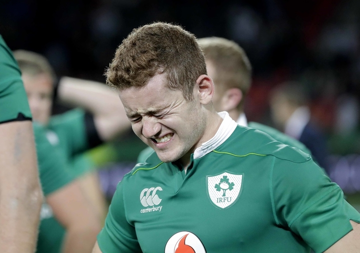 Ireland first five eighth Paddy Jackson