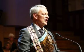 Phil Goff gives his maiden speech to the Auckland Council.
