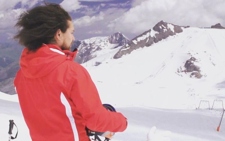 Sport: Tongan skier not giving up despite Olympic set-back