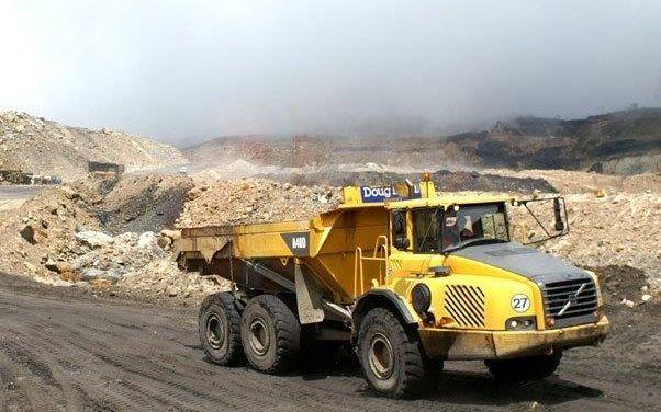 The Stockton mine on the West Coast.