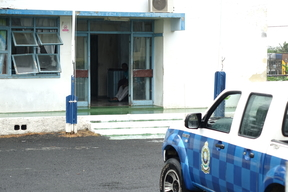 Fiji police office in Nadi.