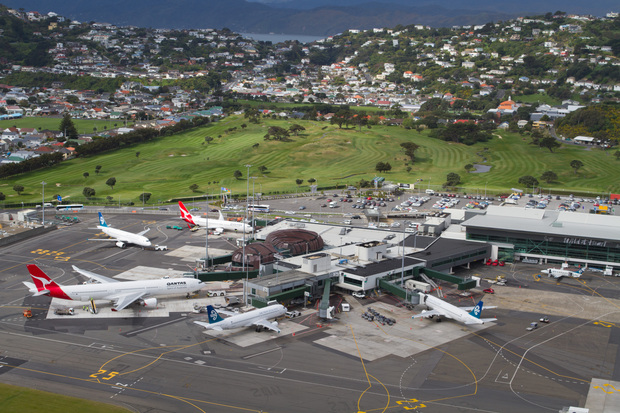 Wellington International Airport.