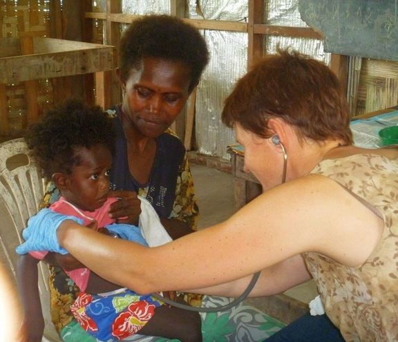 Bougainville childrens' camp