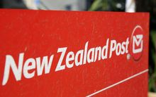 NZ Post logo.