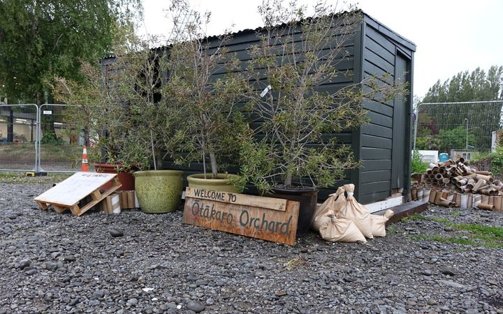 Okataro Orchard in central Christchurch aims to bring people together to help produce an edible garden.