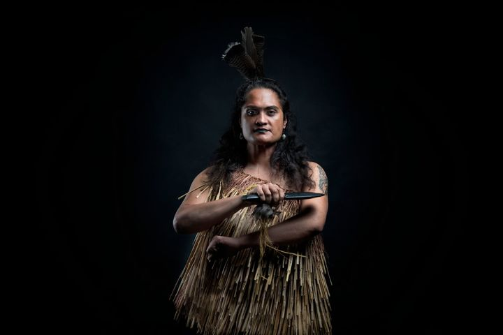 Stacey Kerapa says it was the wise words of her 'drag mother' Witoria Drake that helped her move into the space of being a Māori woman.