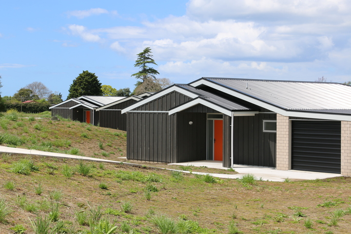 The Papakāinga project will include 12 homes but plans for ten more are in the pipeline.