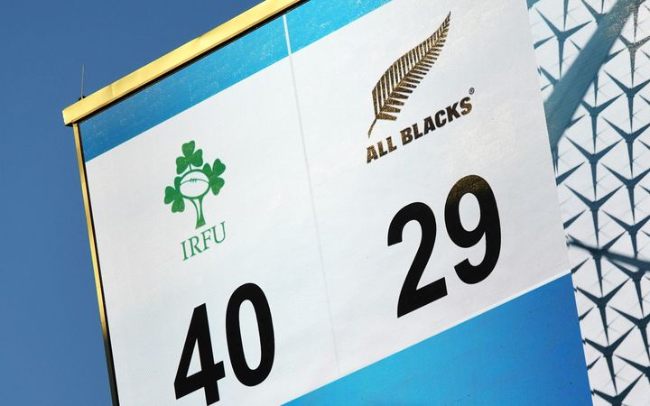 The historic loss to Ireland won't hang over the All Blacks says coach Steve Hansen.