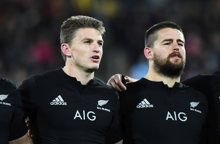 All Blacks first-five Beauden Barrett and hooker Dane Coles have been shortlisted for World Rugby's men's player of the year