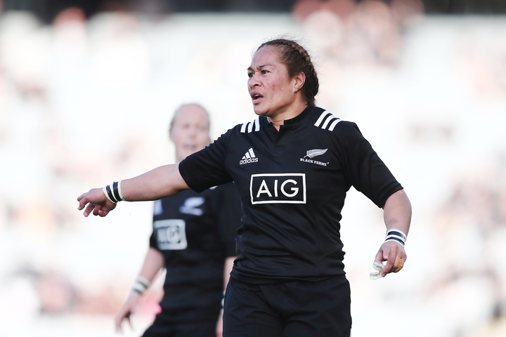 Black Ferns captain Fiao'o Fa'amausili