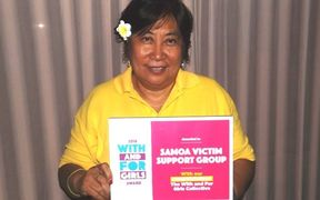The head of the Samoa Victim Support Group Siliniu Lina Chang