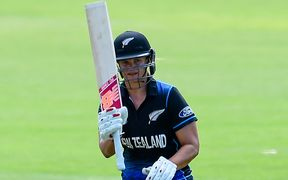 White Ferns captain Suzie Bates.