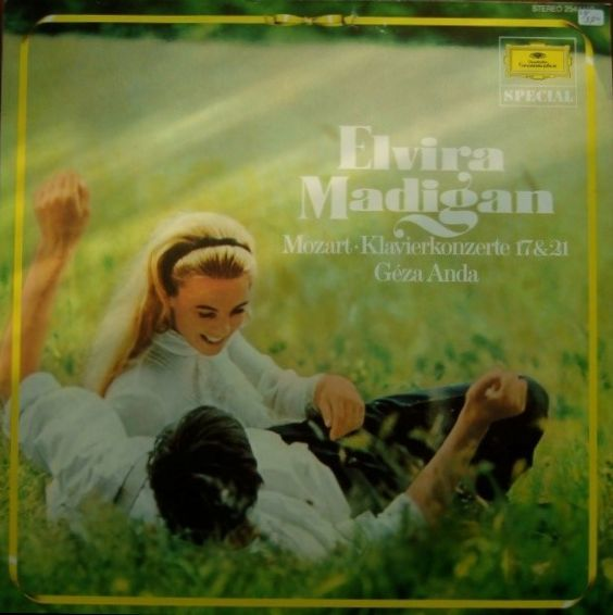 Elvira Madigan - Mozart album cover