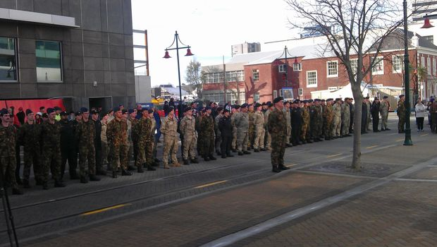 The NZDF was deployed in Christchurch in February 2011 and officially dismissed on 30 June 2013.