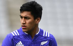 Rieko Ioane is set to make his All Blacks debut against Italy in Rome.