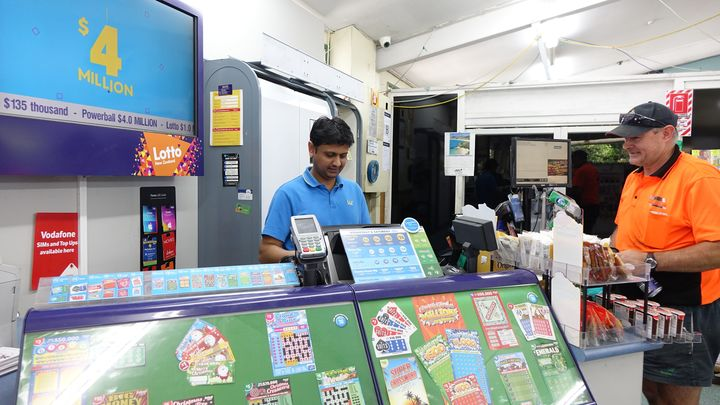 Dairy Flat Foodmart and Liquor Store grocery manager Sujal Patel.