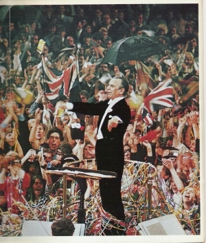 Malcolm Sargent conducting his last Prom on 17 September 1966