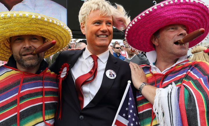 "The USA Mexico football world cup qualifier has ""nothing to do with politics."""