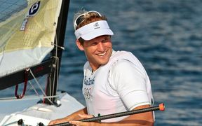 New Zealand sailor Josh Junior.