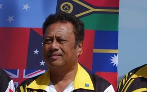 The President of Palau Tommy Remengesau Jr.