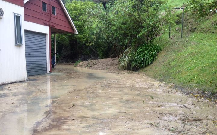 Rain brought down more than 70 slips in Wellington.