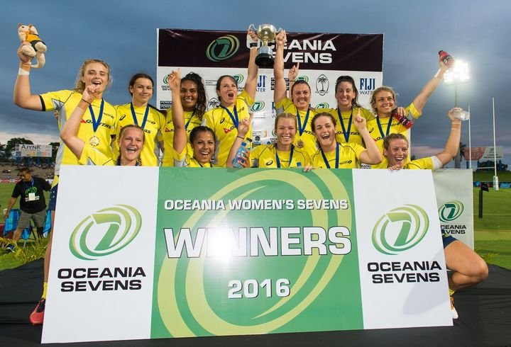 Australia took out the 2016 Oceania 7's title.
