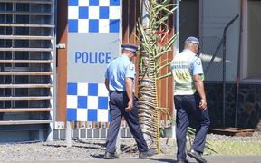 Samoan police headquarters in Apia