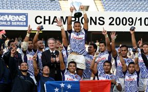 Samoa won the World Sevens Series in 2009/10.