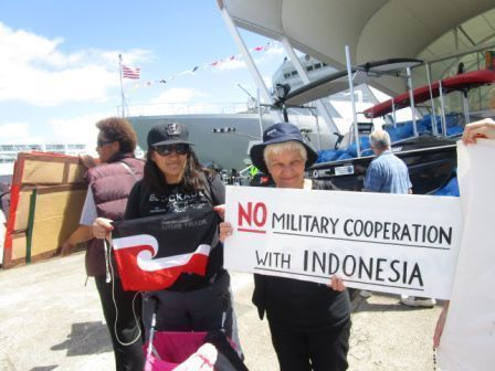 Activists in Auckland concerned about Indonesian military