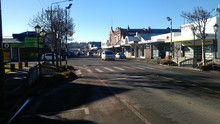 The main street of Balclutha.