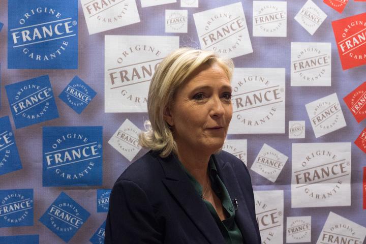 Marine Le Pen, leader of France's National Front