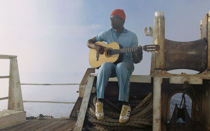 Seu Jorge performs David Bowie's 'Life on Mars' on Wes Anderson's film 'A Life Aquatic'.