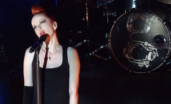Shirley Manson performs with Garbage in Montreal in 2013.