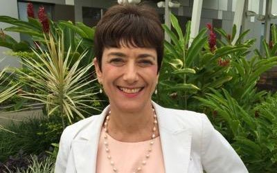 The US ambassador to Fiji, Judith Cefkin