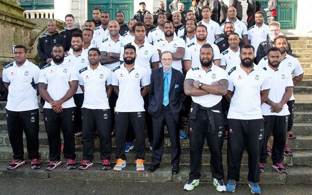 The Flying Fijians in Vannes, France.