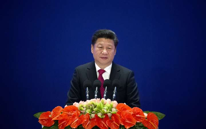 China's president Xi Jinping speaks at the opening ceremony of the Asian Infrastructure Investment Bank in January. The AIIB is hoped to be China's answer to the World Bank.