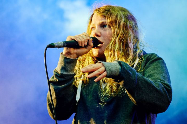 Kate Tempest - Main Stage - Tramlines 2015.