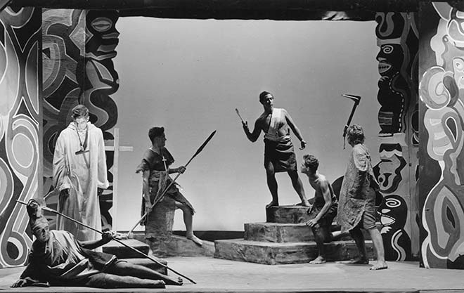 Poet Allen Curnow's 1948 verse play 'The axe' used the conventions of Greek drama to tell a story from 19th-century Polynesia.