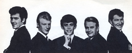 Wally Scott, Dave Russell, Ray Columbus, Jimmy Hill, Billy Kristian, 1964